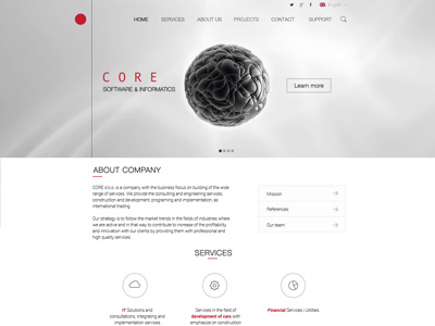 Core web